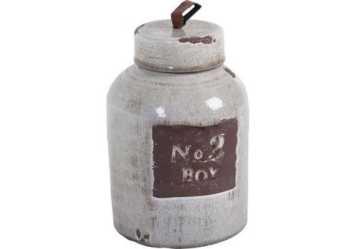 Glenora Ceramic Jar large