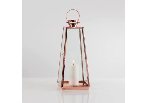 Portico Copper Lantern (Medium)