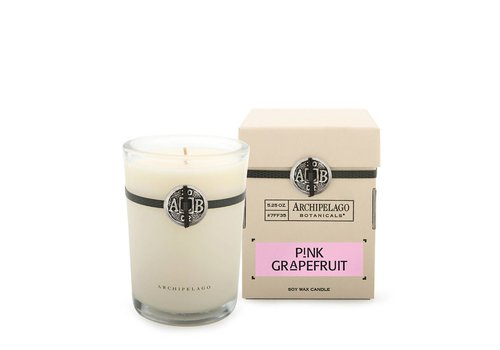 Pink Grapefruit Candle in Box