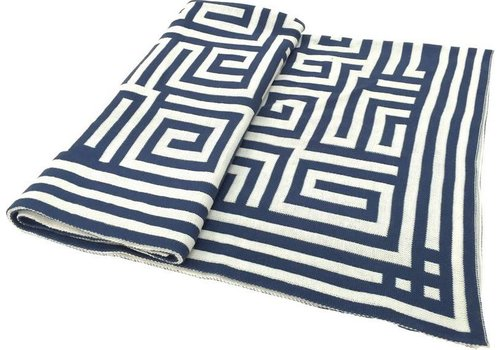 Greek Key Throw