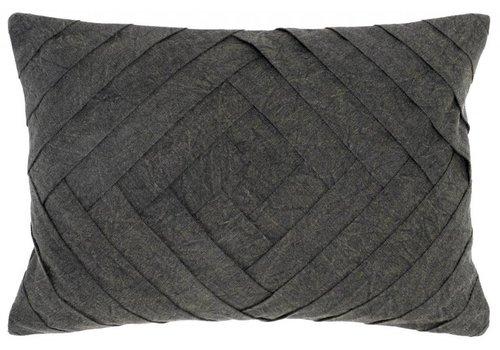 Draper Pillow 14x20 (Onyx)