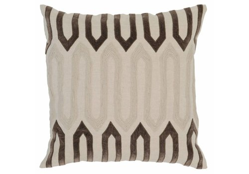 Greer Pillow 22x22 (Natural/Desert)