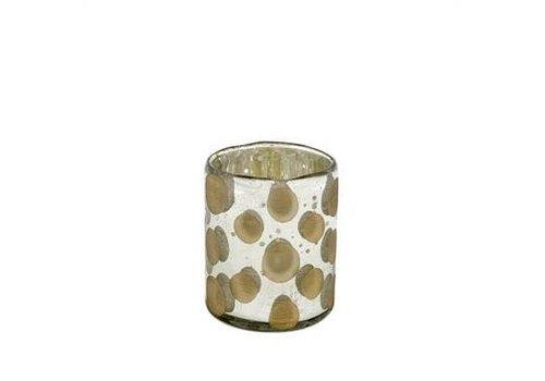 Polka Pot Candle Holder