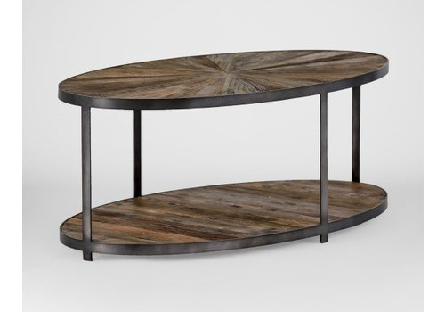 Whitmore Oval Coffee Table
