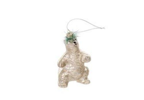 Dancing Bear Ornament