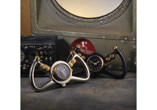 Cockpit Table Clock - Black