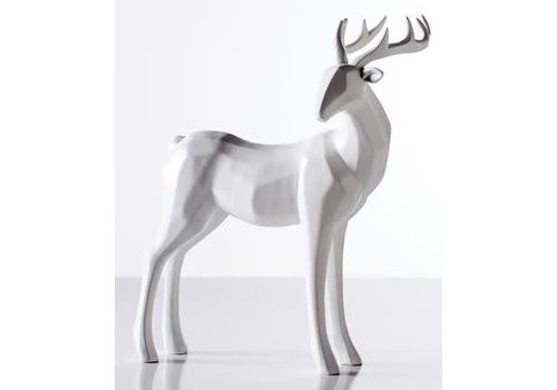 Carved Stag Decor - Head Down