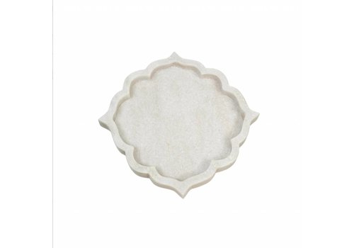 Arabesque Marble Tray Small