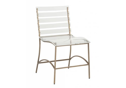 Ellen Dining Chair - Silver