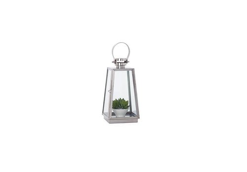 Portico SS Tapered Lantern - Small