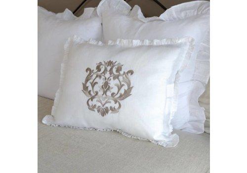 Standard Pillow Sham w/ Damask