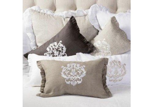 Damask Pillow 12 x 18