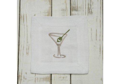 Martini Cocktail Napkin Set