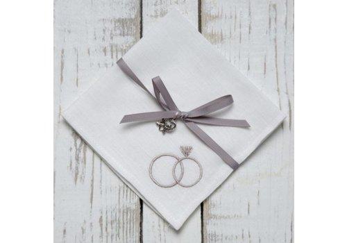 Wedding Rings Handkerchief