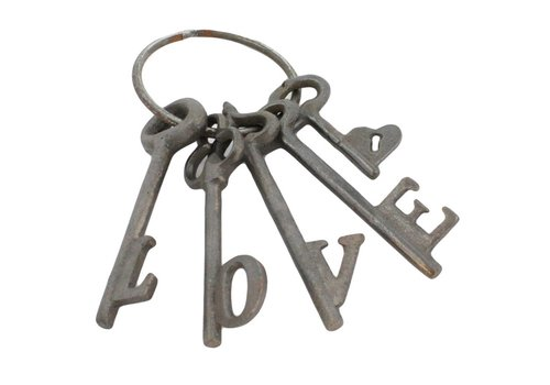 Love Keys Cast Iron