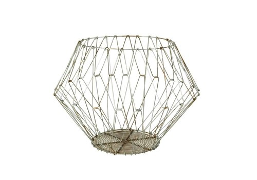 Edison Wire Basket - Lrg - Natural