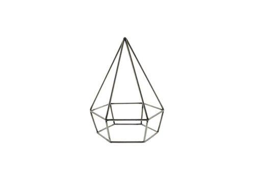 Steel Geo Diamond Object