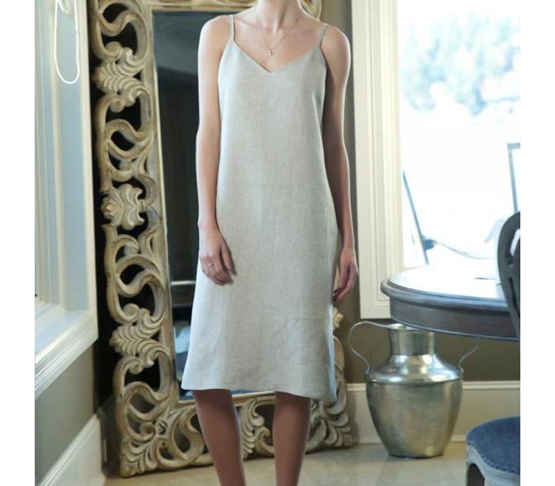 Basic Slip Dress Adjustable Straps