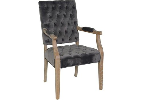Rosalind Arm Chair Steel