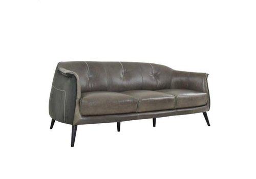 Martel 3 Seater Sofa Wolf/Char