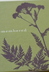 A Life Remembered, Guest Book