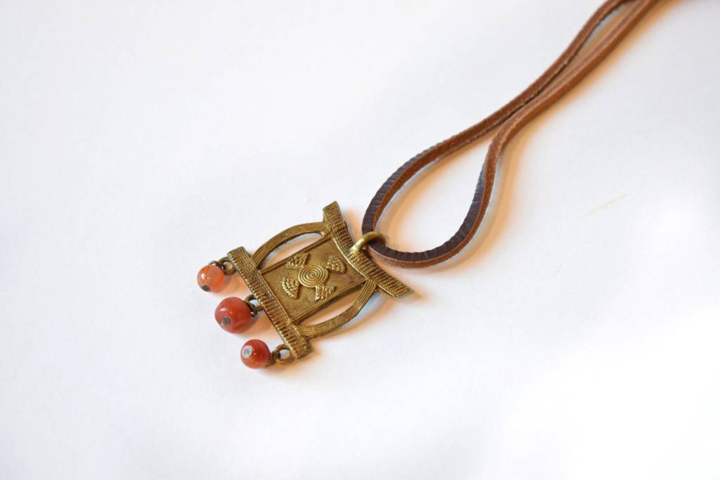 Ashanti Bronze Necklace