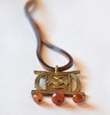Ashanti Bronze Necklace