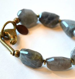 Labradorite Bracelet, We Dream in Colour