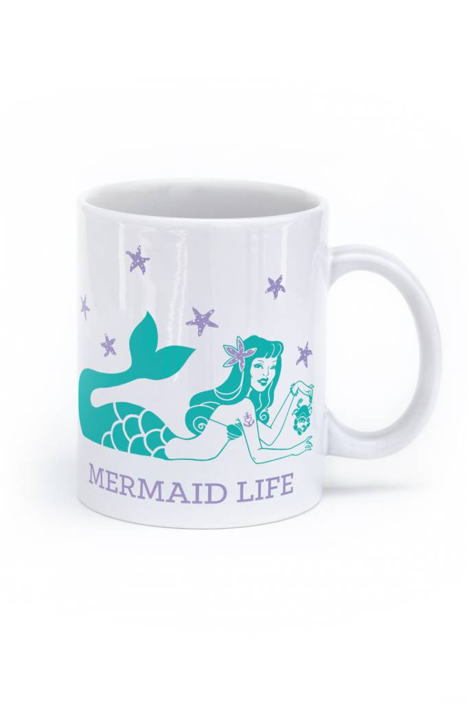 Mermaid Life Mug