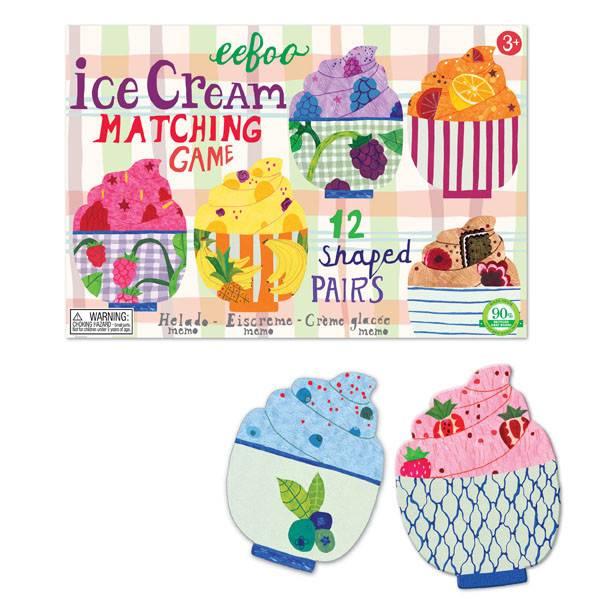 eeBoo Ice Cream Matching Game