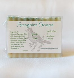 Basil Lime Soap Bar