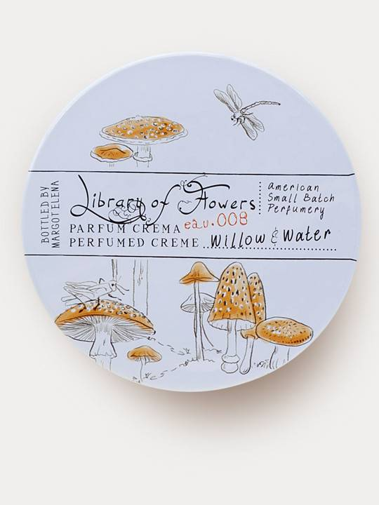 Parfum Crema. Library of Flowers. Willow & Water