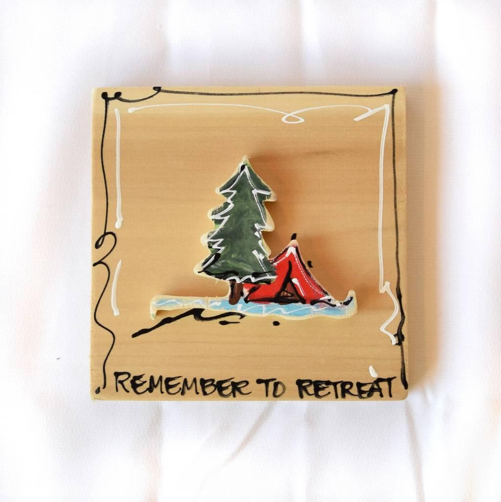 Heidi Hensley, Remember to Retreat