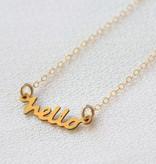 Hello Necklace, Frolick