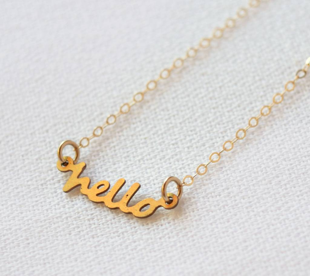 Hello Necklace, Frolick