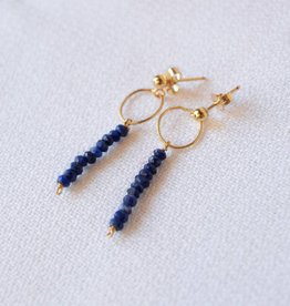Layla Lapis Earrings