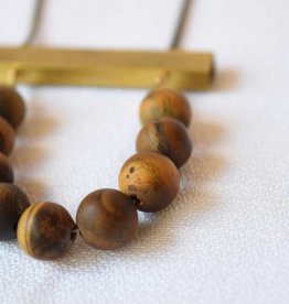 Au Courant Tiger Eye Necklace