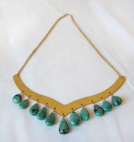 Cape Bib Necklace