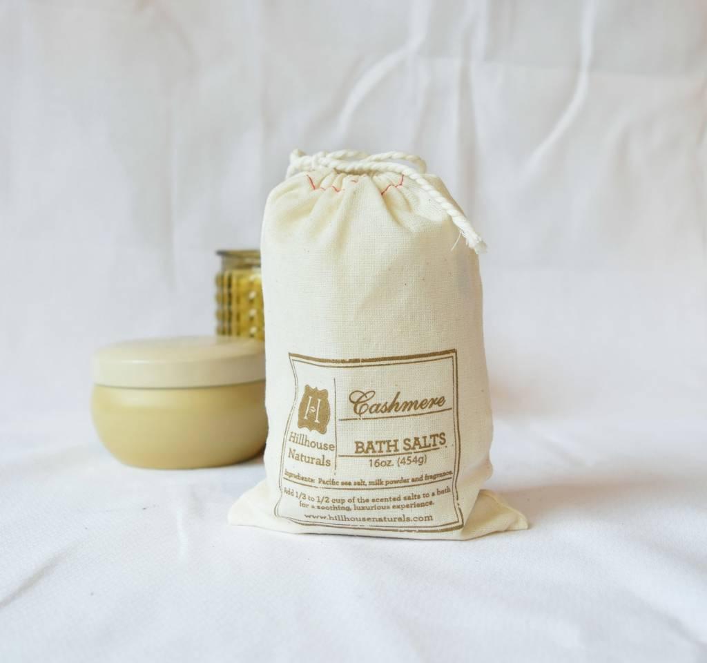 Cashmere Bath Salts, Hillhouse Naturals