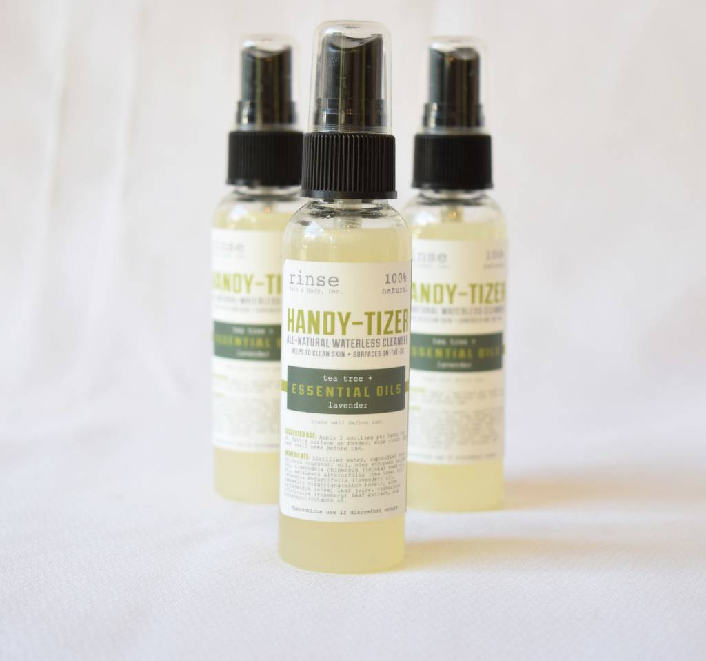 Handy-Tizer, Tea Tree & Lavender, Rinse