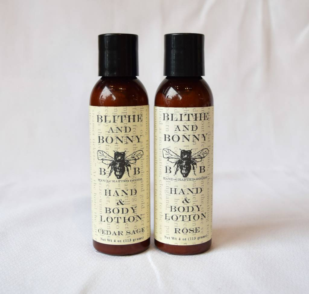 Hand and Body Lotion, Blithe & Bonny