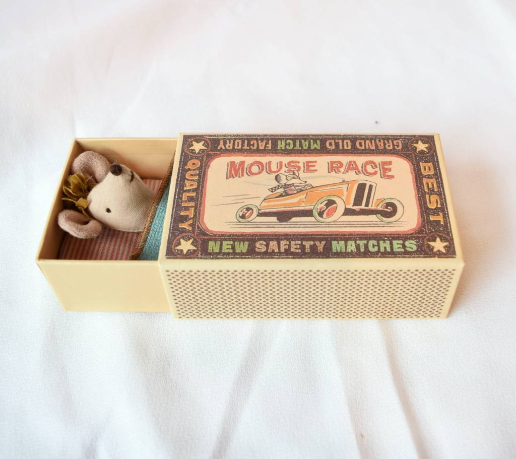 Maileg, Little Sister Mouse in Box