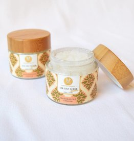 Madagascar Vanilla Salt Scrub