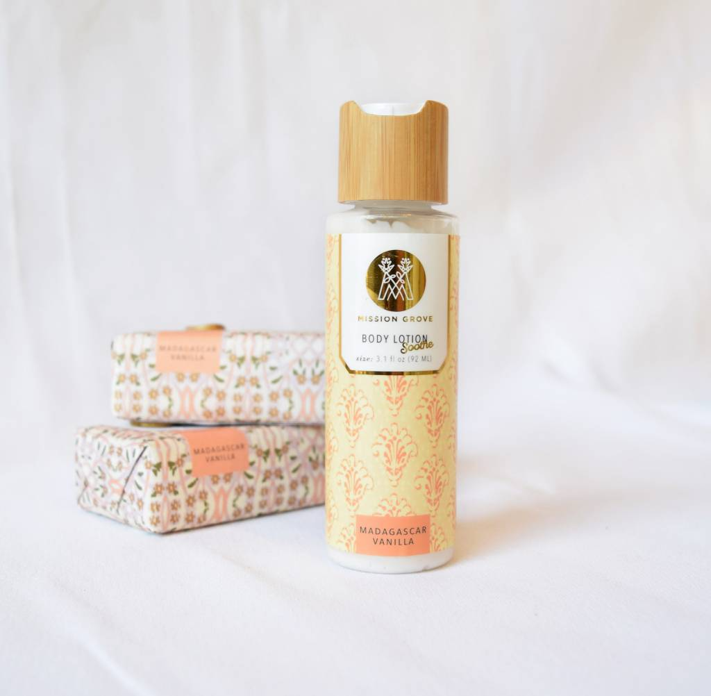 Madagascar Vanilla Body Lotion, Soap & Paper