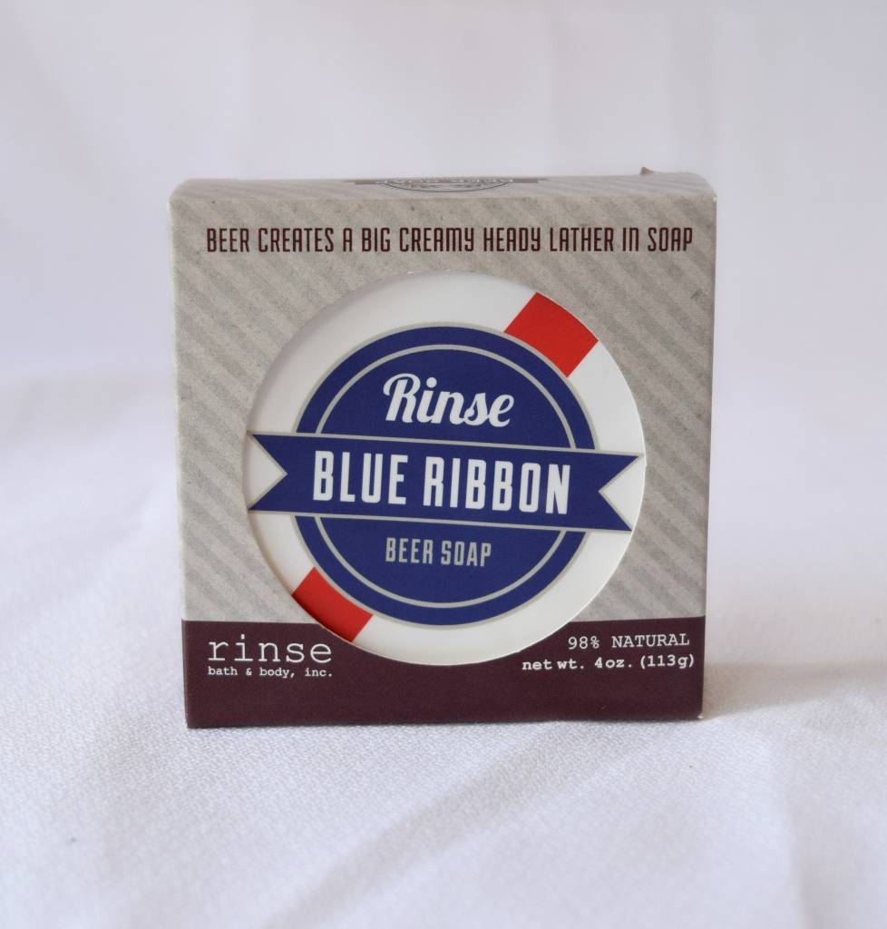 Blue Ribbon Beer Soap, Rinse