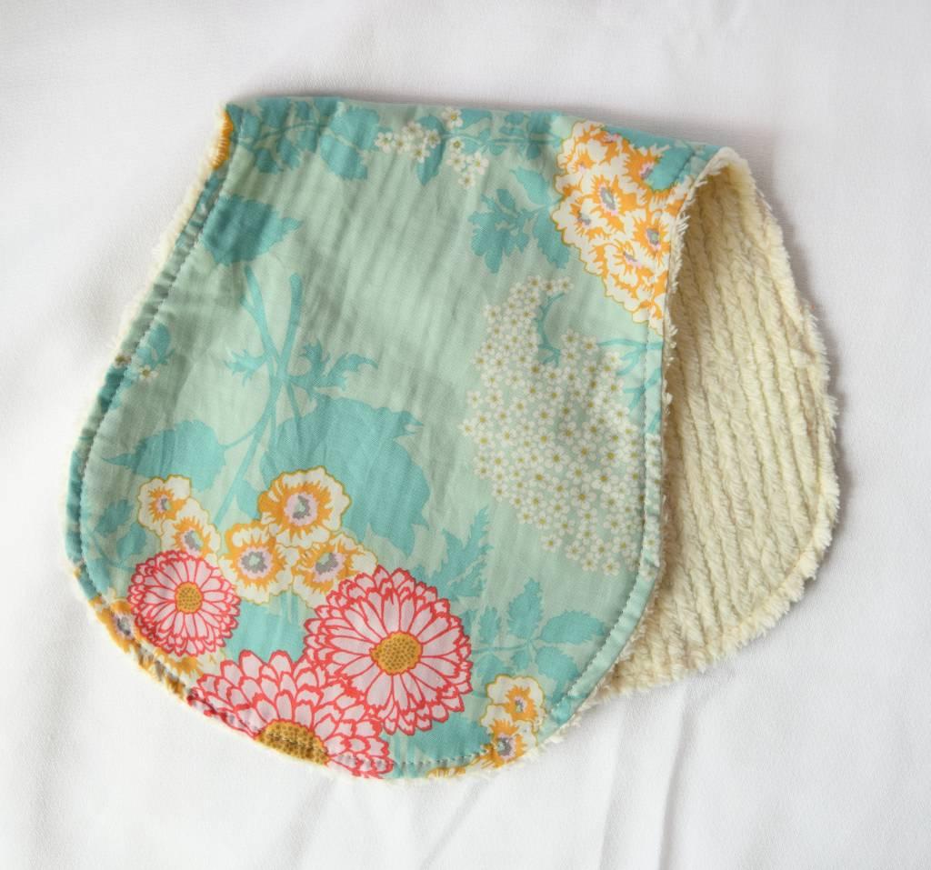 Paisley Pea Burpcloths