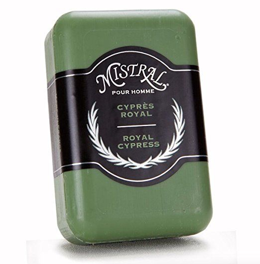 Royal Cypress Men's Soap, Mistral