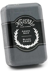 Black Amber Men's Soap, Mistral