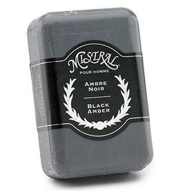 Black Amber Men's Soap