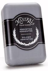 Silver Absinthe Men's Soap, Mistral